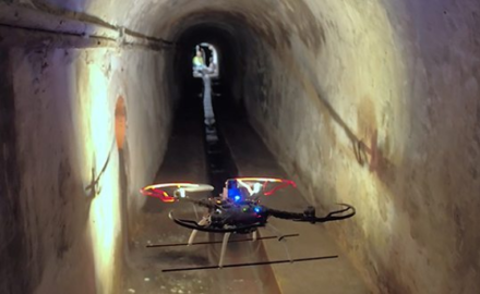 Barcelona Employs Drones for Sewer Inspection